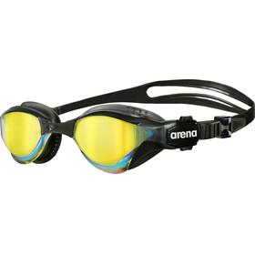 arena Cobra Tri Mirror Svømmebriller Gul/Svart